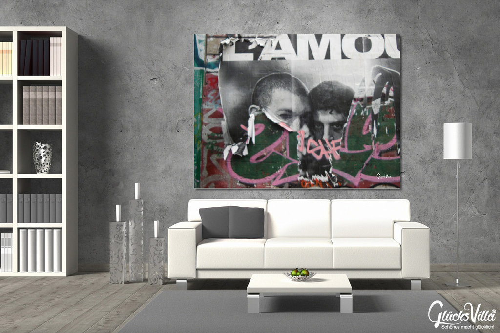 L´amour Plakat & Graffiti