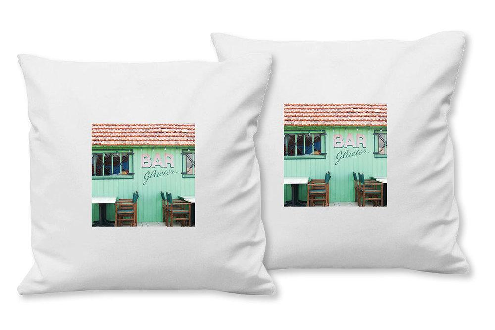 Kissenhülle Bär Kissenbezug Kissen Bezug Shabby Vintage Landhaus Deko